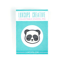Load image into Gallery viewer, Luxcups Creative Panda Face Enamel Pin