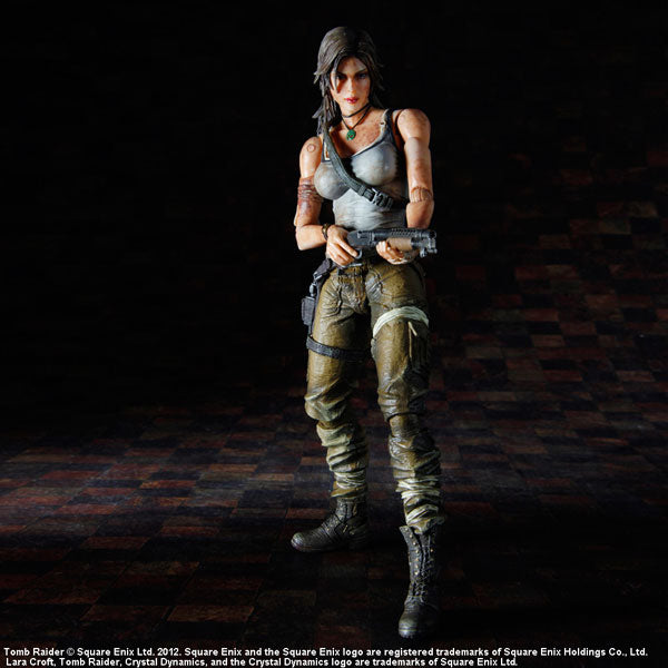 Square Enix Play Arts Kai Tombraider Laura Croft 1st Version Figure