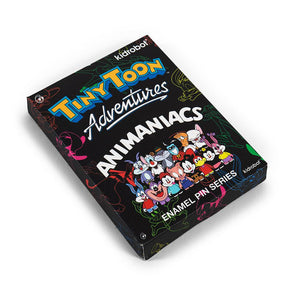 Kidrobot Tiny Toon Adventures & Animaniacs Enamel Pins Series Blind Box