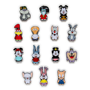 Kidrobot Tiny Toon Adventures & Animaniacs Enamel Pin Series Case