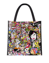 Load image into Gallery viewer, Tokidoki Kawaii Metropolis Vinyl Tote