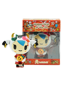 Tokidoki Year of Ox Mozzarella 3inch Vinyl Figure