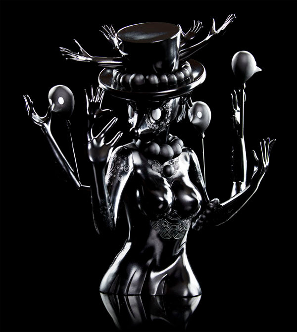 Kidrobot Black Series Yury Ustsinau Blueberry Art Figure