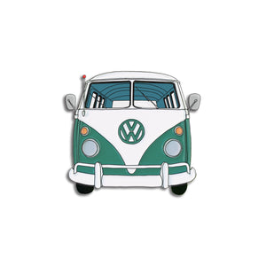 Nerdpins VW Green Bus Enamel Pin