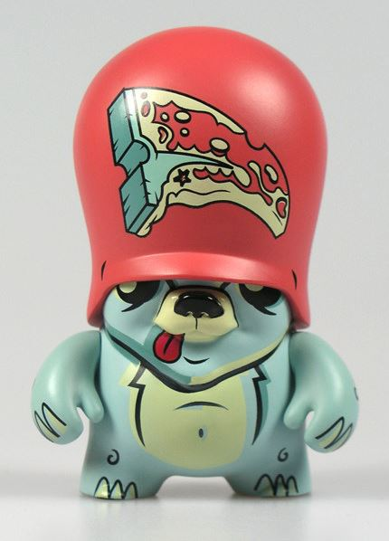 Flying Fortress Teddy Trooper Series 3 Joe Ledbetter 3.5 inch Vinyl Figure