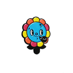 Creamlab Squink Megalopolitan Bloom Enamel Pin