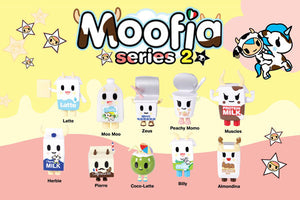 Tokidoki Moofia Mini Figures Series 2 Case