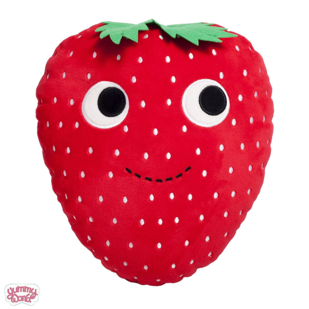 Kidrobot Yummy World Sassy Strawberry 10inches Plush