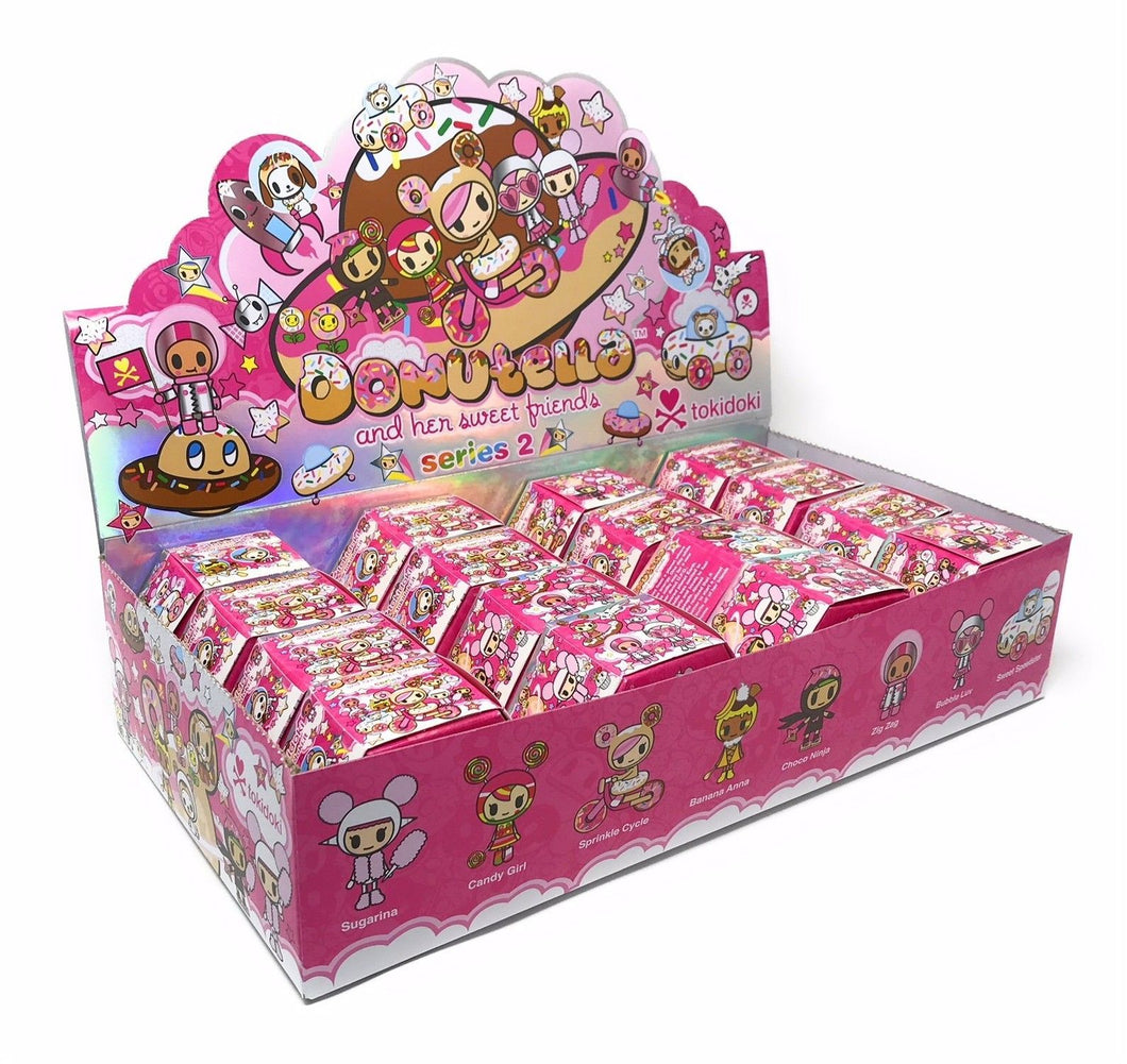 Tokidoki Donutella and Her Sweet Friends Series 2 Mini Figures Case