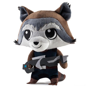 Kidrobot Phunny Guardins of Galaxy Kid Rocket Raccoon Plush