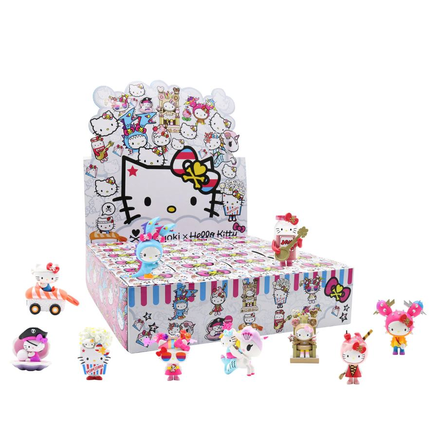 Tokidoki x Hello Kitty Series 2 Mini Vinyl Figure Case