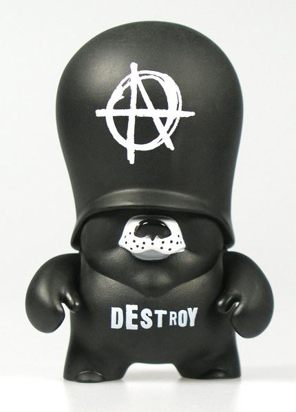Flying Fortress Teddy Trooper Series 3 Frank Kozik Anarchy 3.5 inch Vinyl Figure