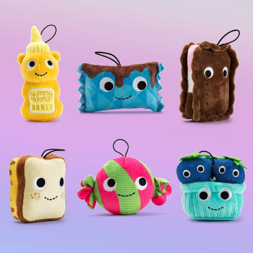 Kidrobot Yummy World Delicious Treats Series Set 4inch Plush