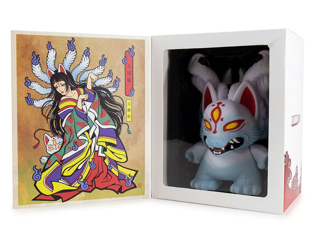 Kidrobot Candie Bolton Kyuubi 8inch Dunny Vinyl Figure