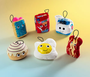 Kidrobot Yummy World Breakfast in Bed Series 4inch Plush Set
