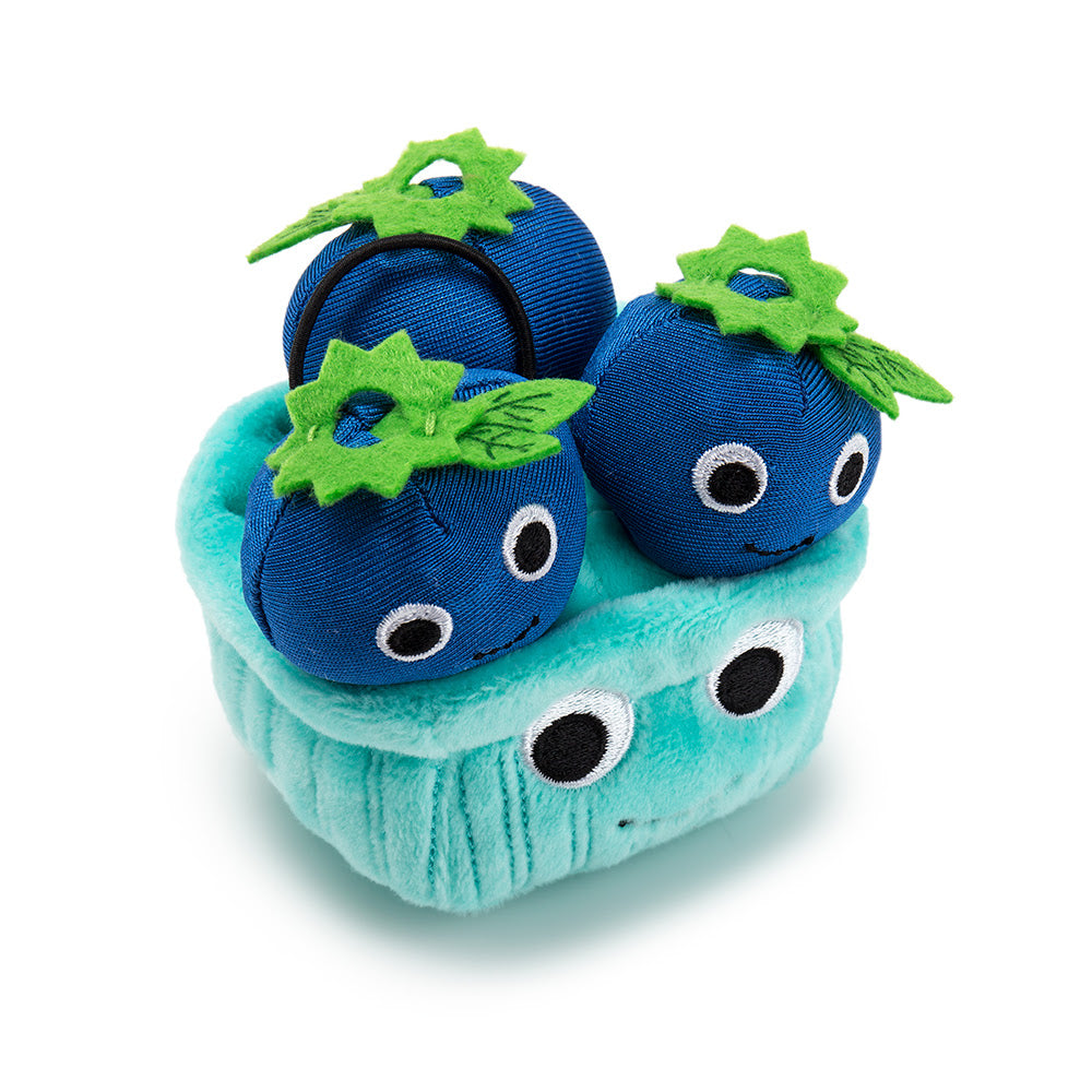 Kidrobot Yummy World Delicious Treats Series Boo Blueberry 4inch Plush