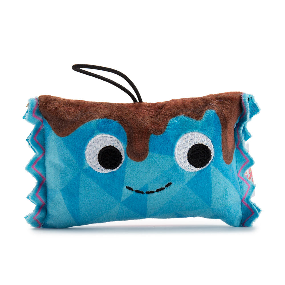 Kidrobot Yummy World Delicious Treats Series Mike Mini Chocolate Bar 4inch Plush