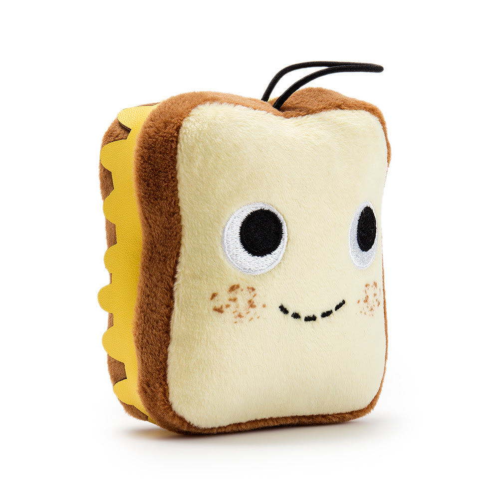 Kidrobot Yummy World Delicious Treats Series Gary Grilled Cheese 4inch Plush
