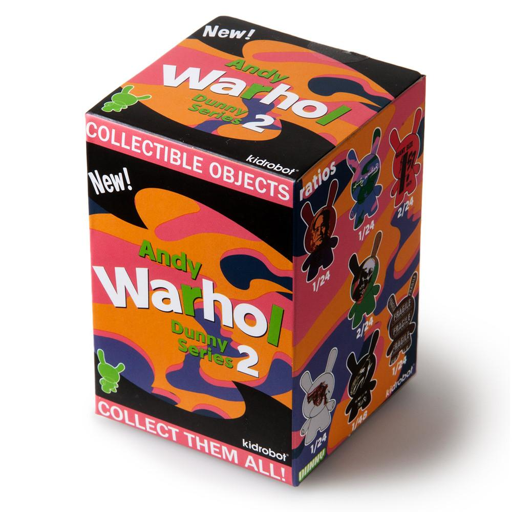 Kidrobot Andy Warhol 3inch Dunny Series 2 Blind Box