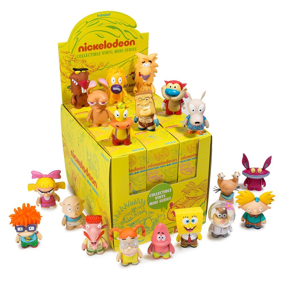 Kidrobot Nickelodeon Series 1 Mini Figures Sealed Case