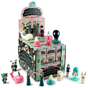 Kidrobot Tara McPherson Stellar Dream Scouts Sealed Case