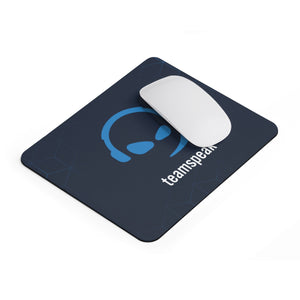 """Blue Smirk"" Mouse Pad"