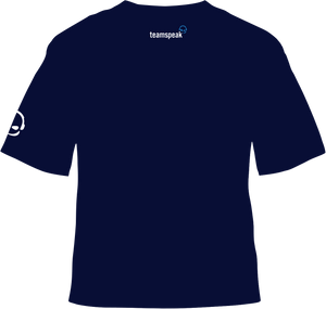 """Tim Speak"" -  Meme 1 - Short Sleeved Tee - Dark Blue"