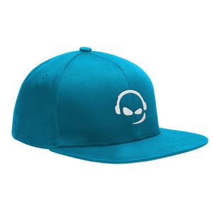 TeamSpeak Snap Back Cap - Light Blue
