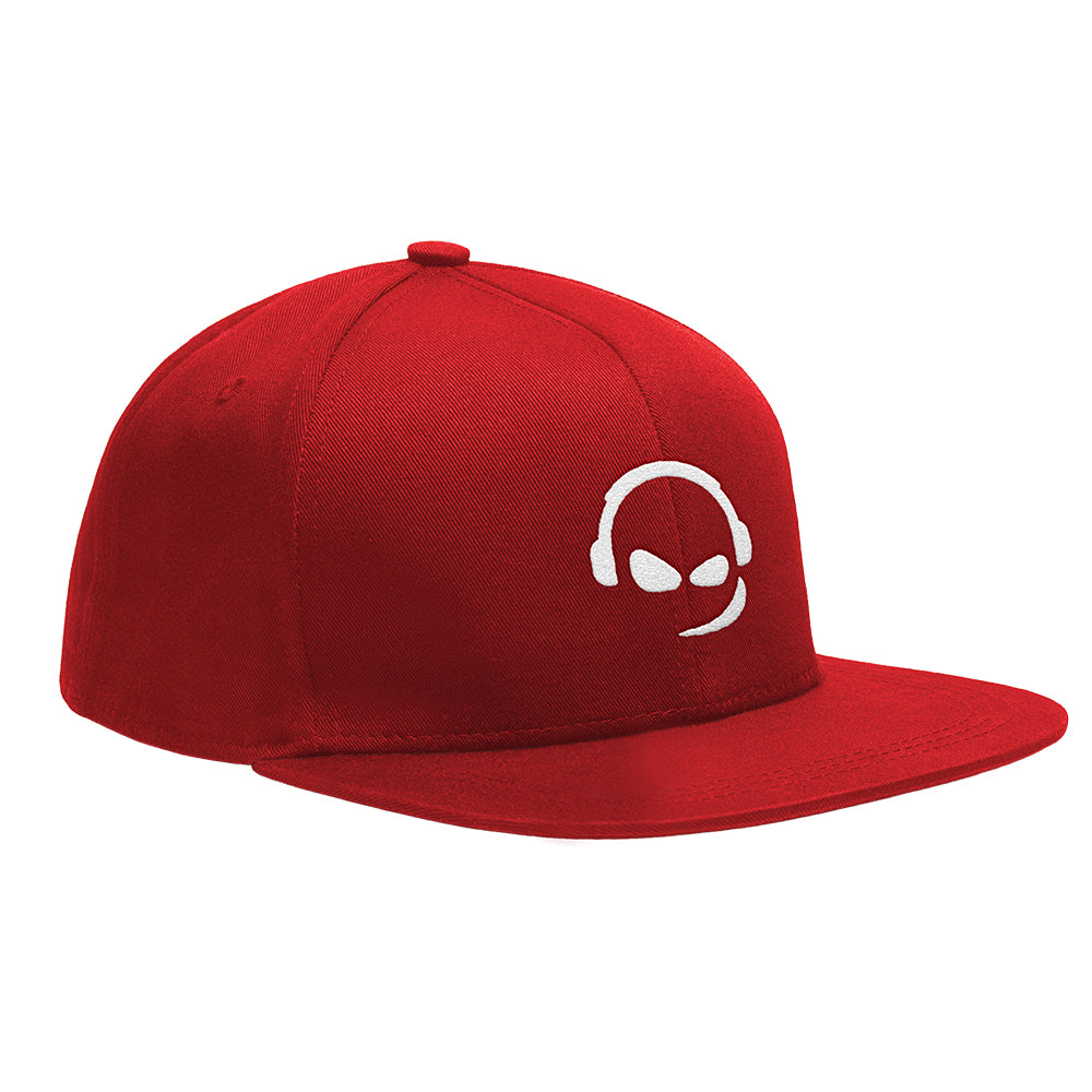 TeamSpeak Snap Back Cap - Red
