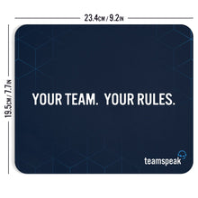 """Your Team.  Your Rules."" Mouse Pad"