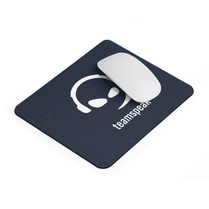 """White Smirk"" Mouse Pad"