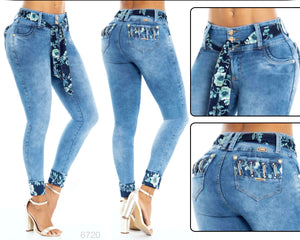 Push Up Colombian Jeans 6720