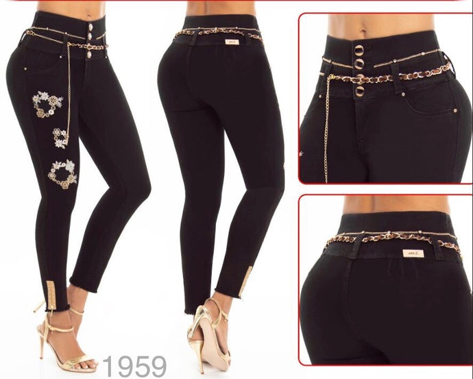 Push Up Colombian Jeans 1959