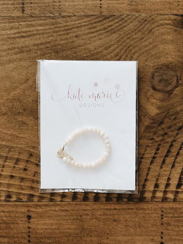 baby shower gift for girl bracelet