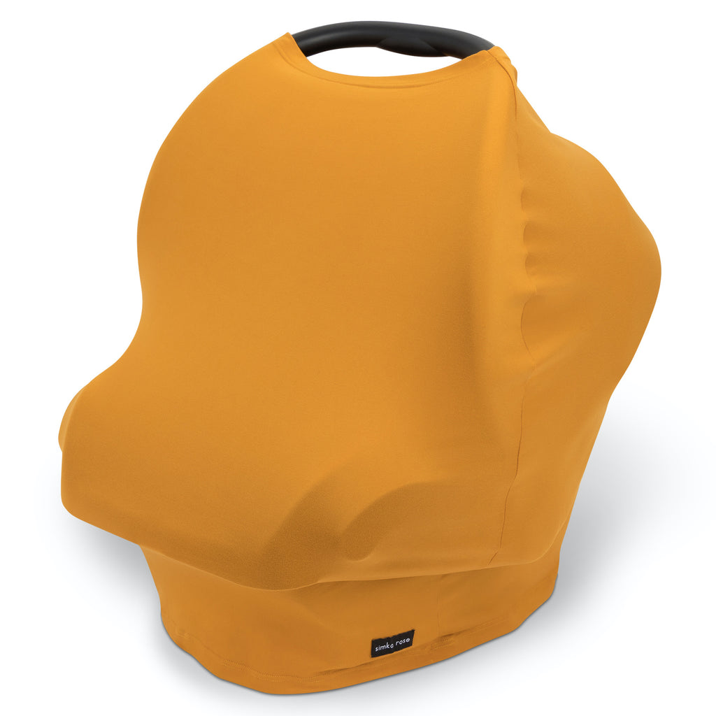 Car Seat Canopy / Nursing Cover - Marigold