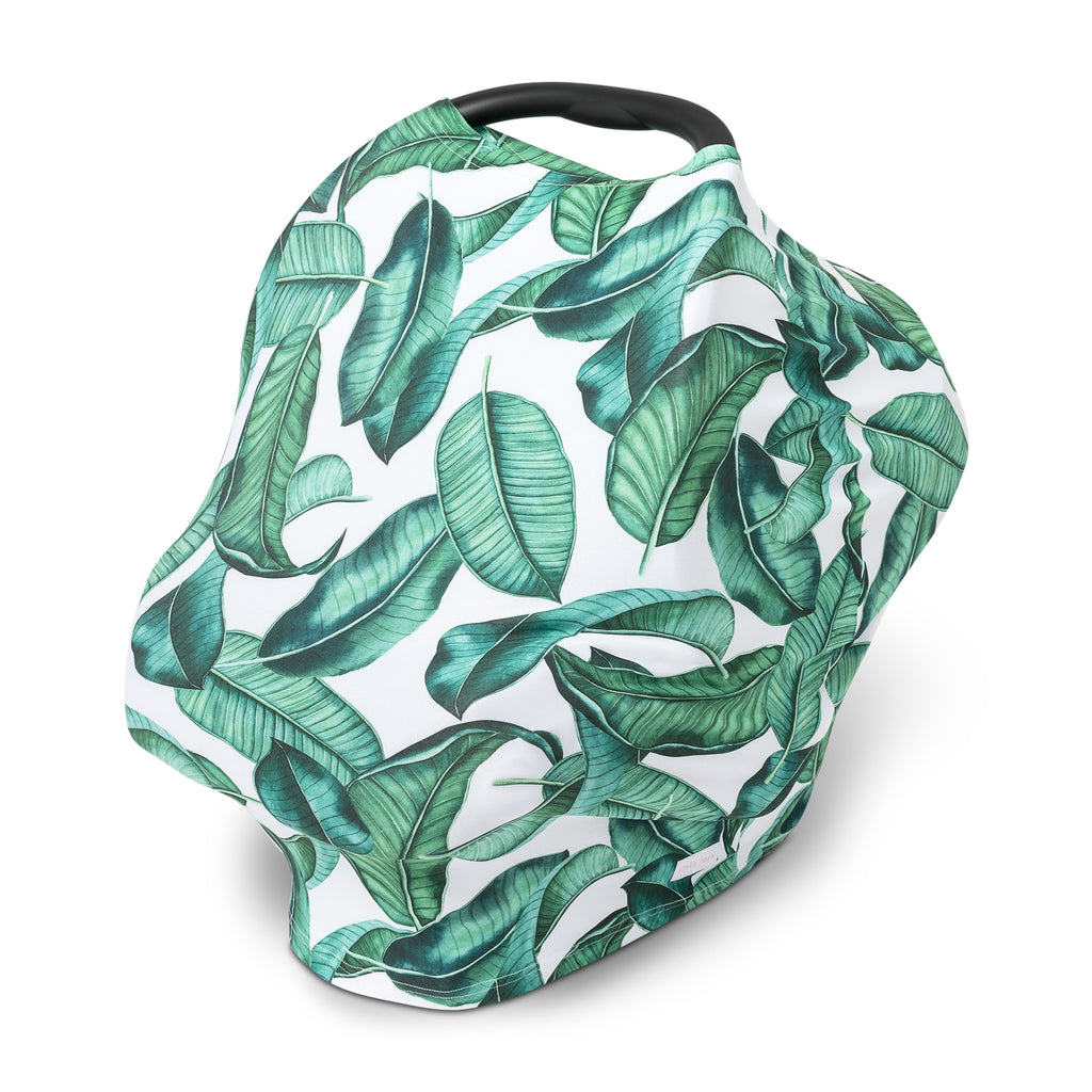 Car Seat Canopy / Nursing Cover - Leaf
