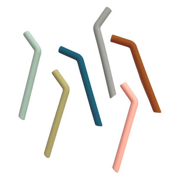 Silicone Straw Set - Short