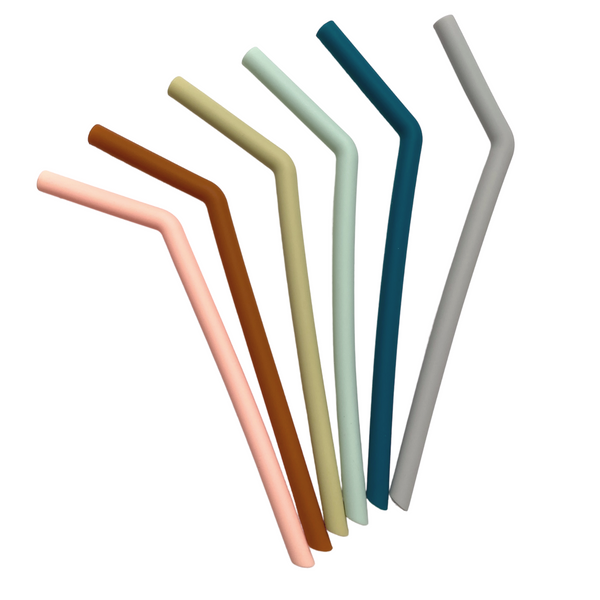 Silicone Straw Set - Tall