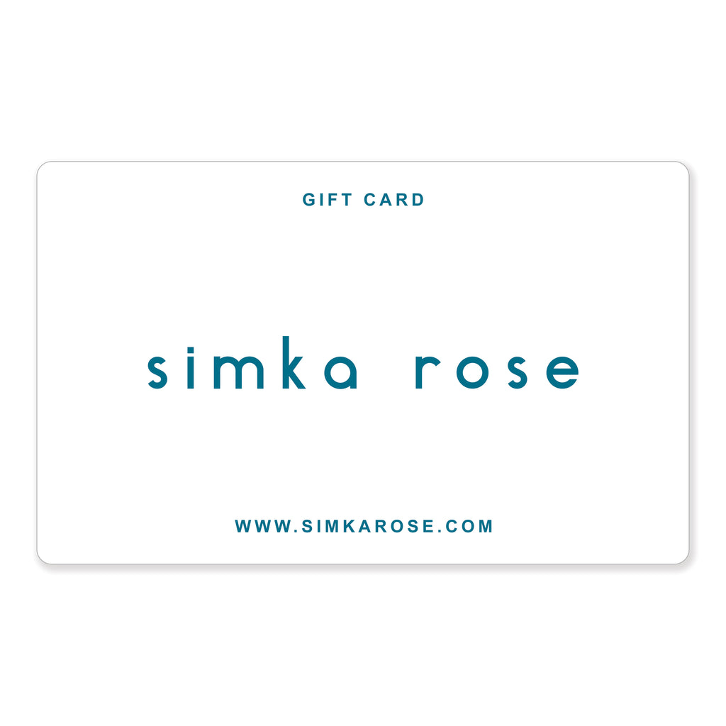 Simka Rose Gift Card