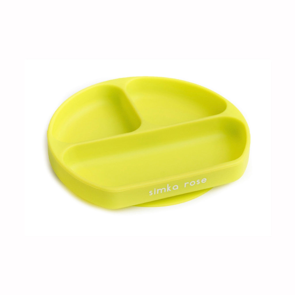 Divided Suction Plate - Lime