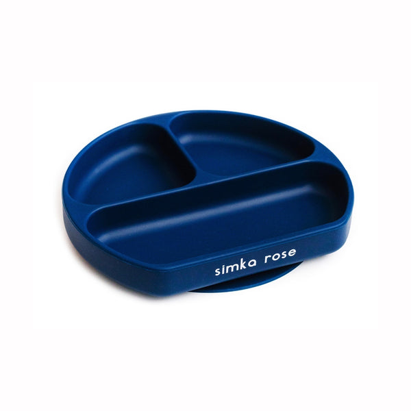 Divided Suction Plate - Navy