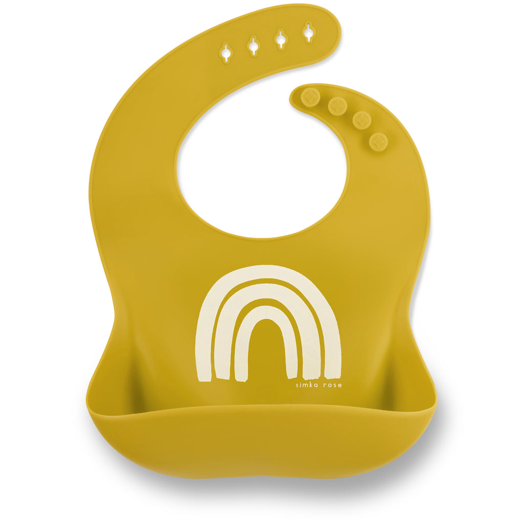 Rainbow Bib - Gold