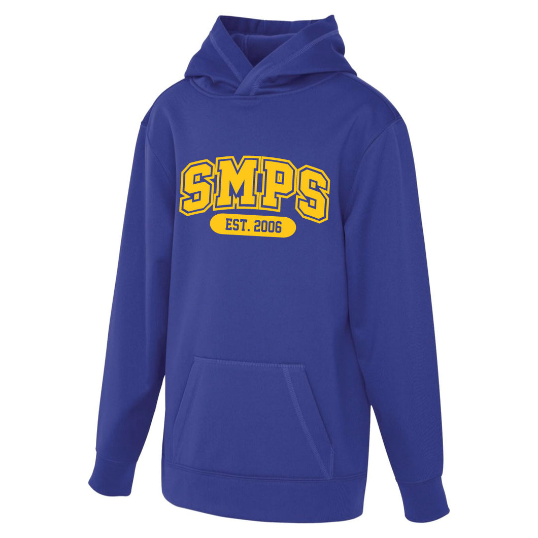 SMPS - Blockletter Polyester Hoodie