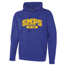 Load image into Gallery viewer, SMPS - Blockletter Polyester Hoodie