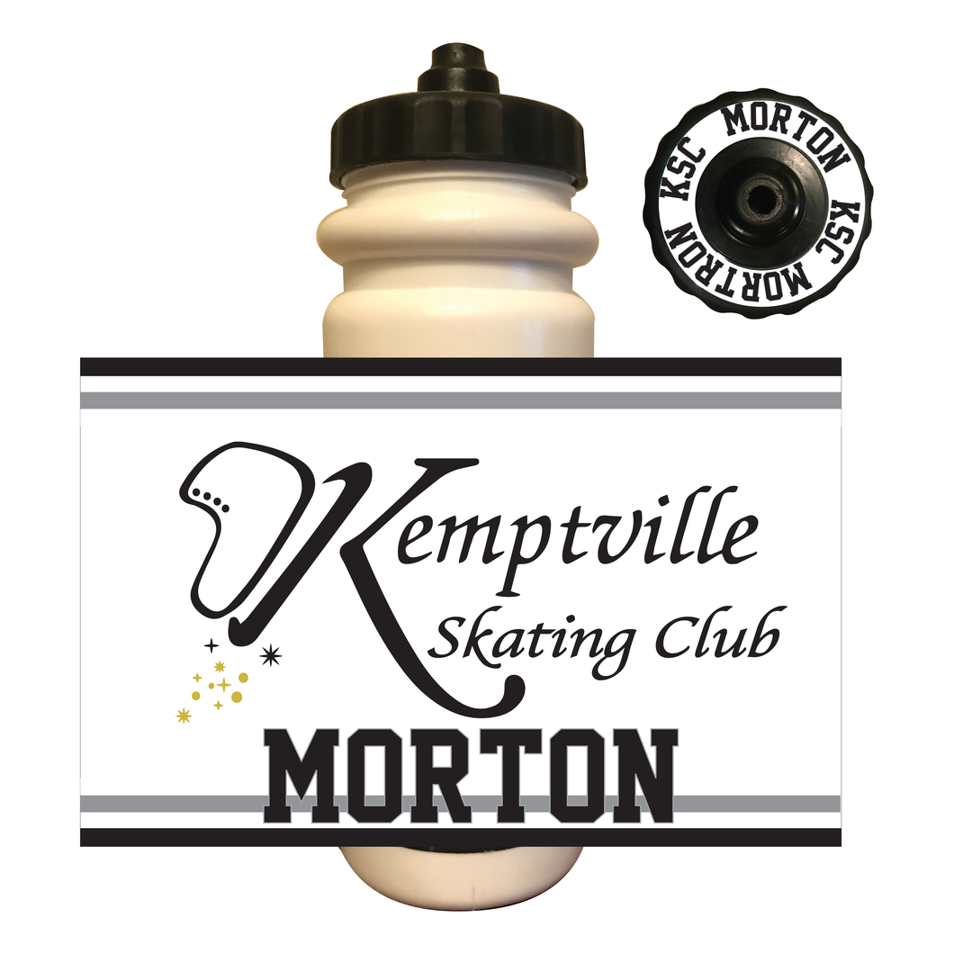 Kemptville Skating Club Water Bottle