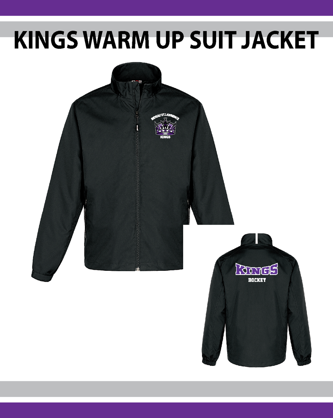 RSL Kings- Warm Up Jackets