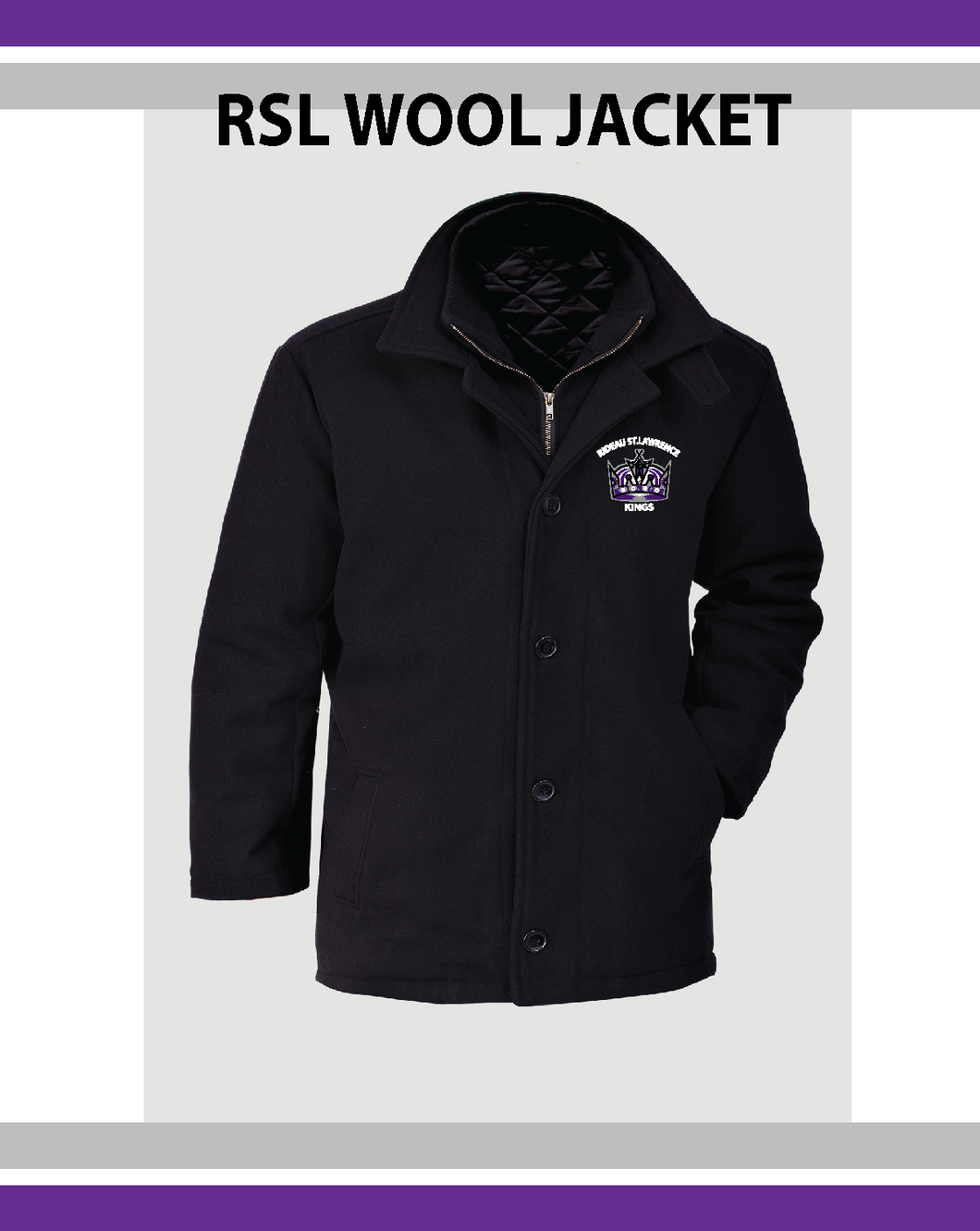 RSL Kings- Wool Jacket
