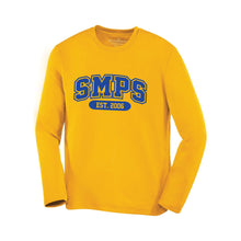 Load image into Gallery viewer, SMPS - Blockletter Polyester Long Sleeve