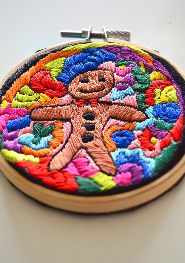 Gingerbread Man Hoop