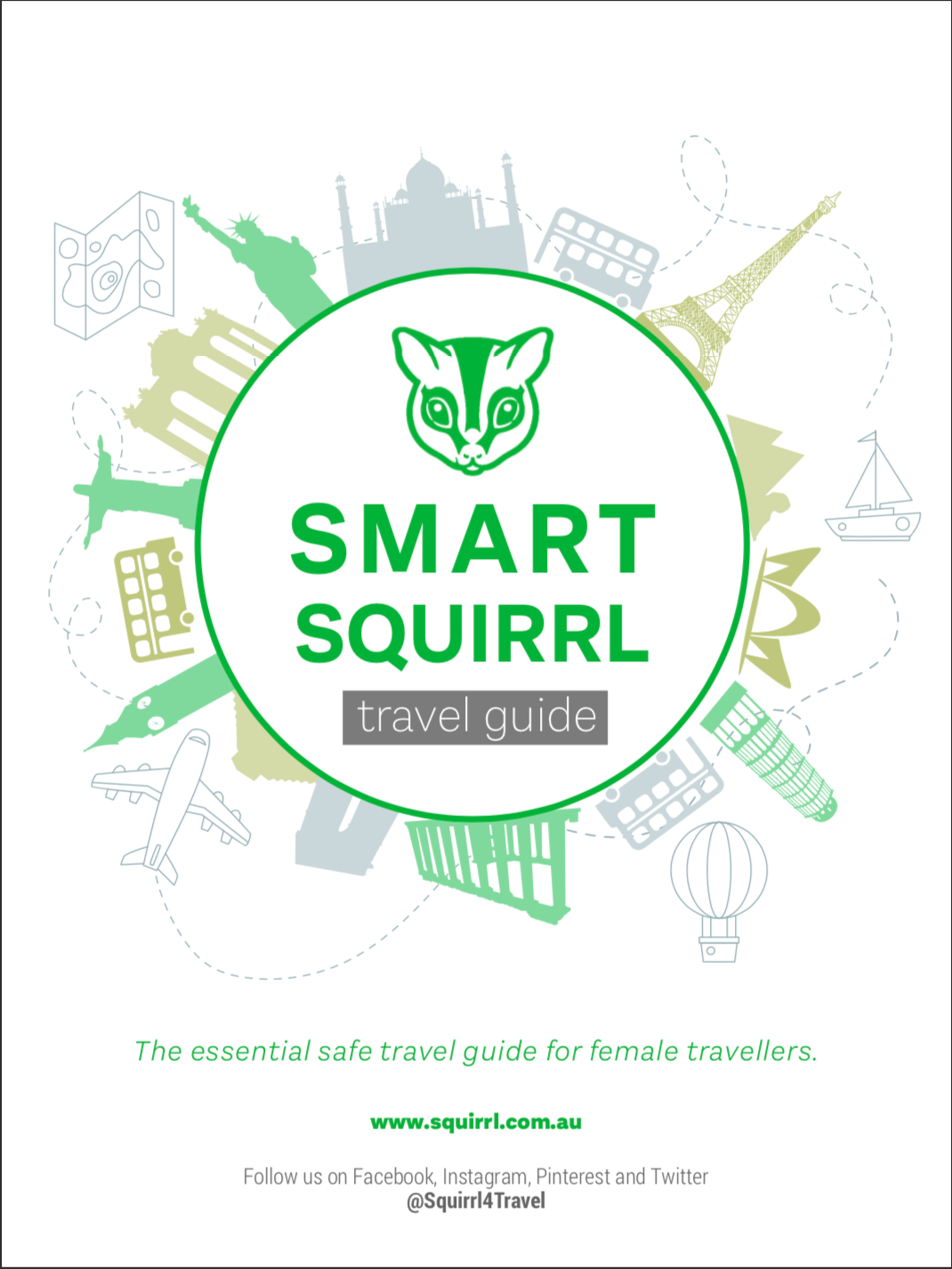 eBook Front Cover - Smart Squirrl